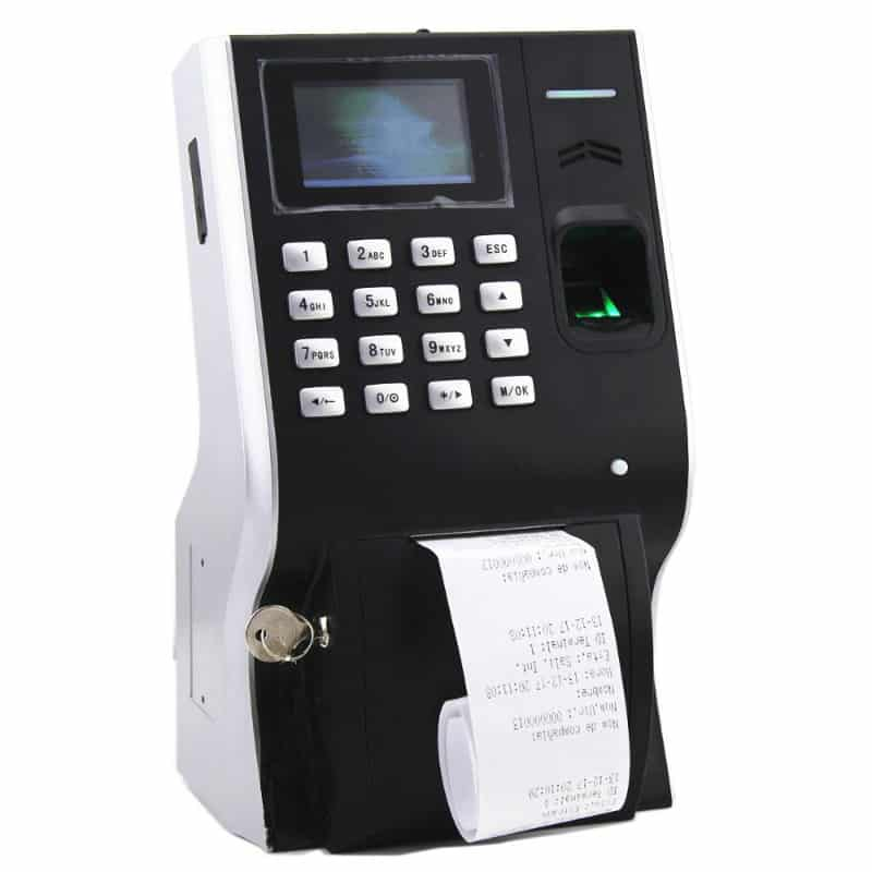 LP400 - Printer Integrated Biometric Time Attendance Devices