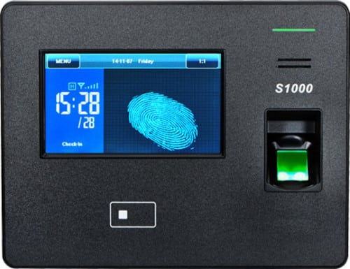 S1000 Biometric Fingerprint and Proximity Card Time Attendance Device