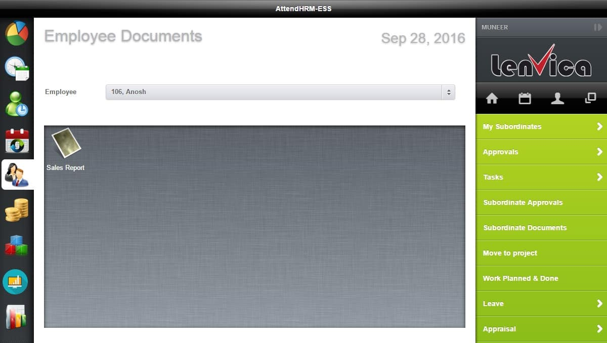 Upload Employee Documents