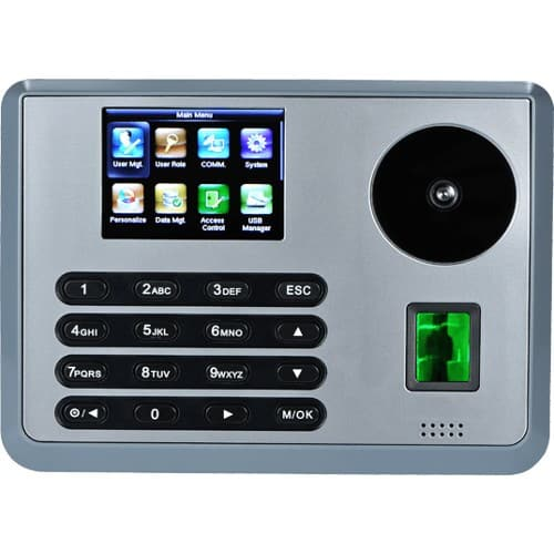P160 - Palm Recognition, Multi-Biometric Time Attendance Terminal with Access Controls