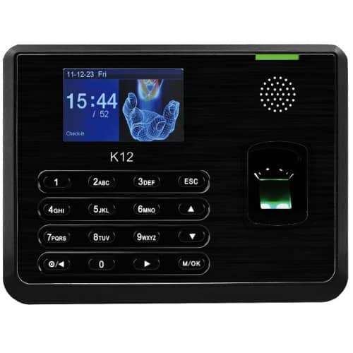 K12 - Fingerprint and Card Time Attendance Terminal