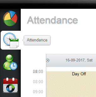 hr software attendance dashboard