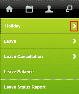 apply holiday leave