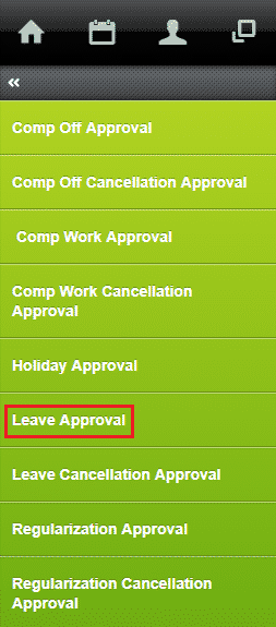 approve leave