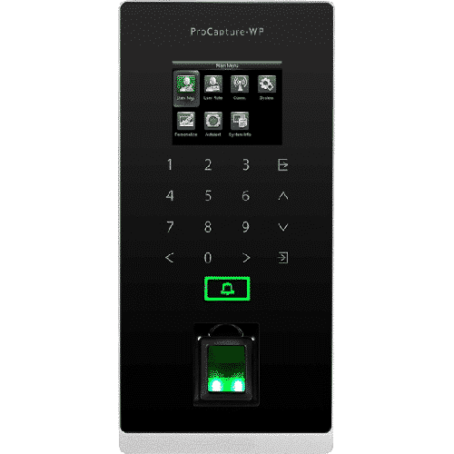 ProCapture-WP - Fingerprint Access Control Terminal