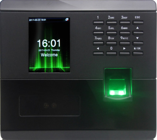 MB10 - Face and Fingerprint Time Attendance Device
