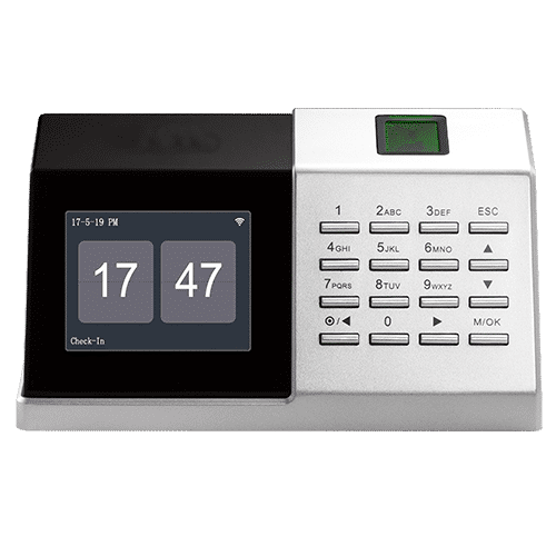 D2S - Desktop Fingerprint Biometric Time Attendance Device