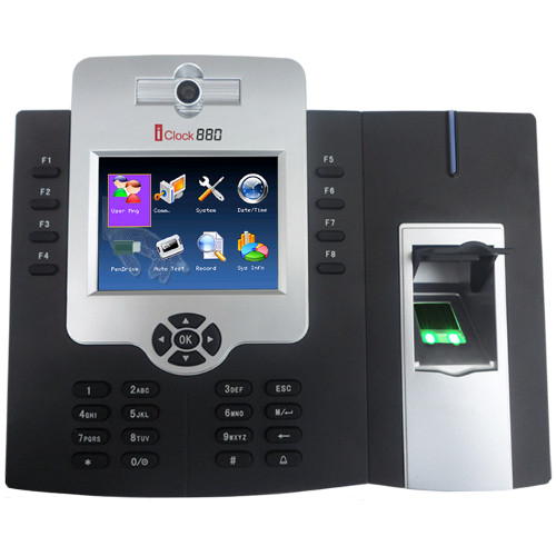 iClock 880 - Fingerprint Time Attendance & Access Control Device