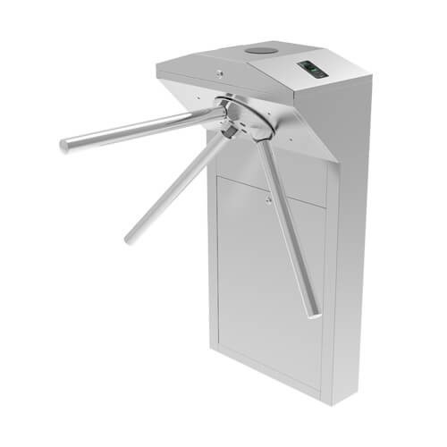 TS1022 Pro Tripod Turnstile with controller and combination of fingerprint & RFID readers