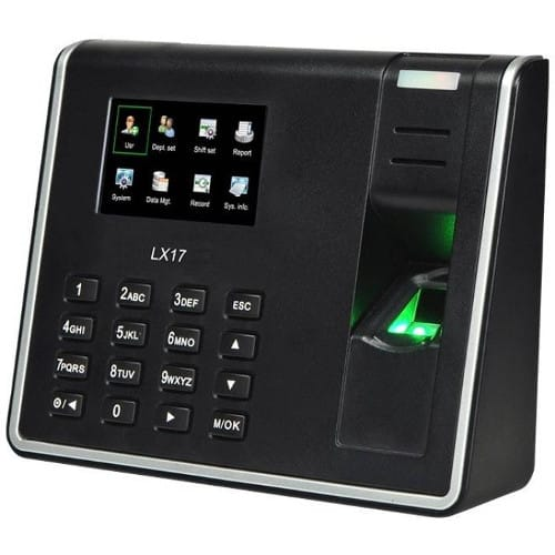 LX17 - Fingerprint Time Attedance Device with USB communication