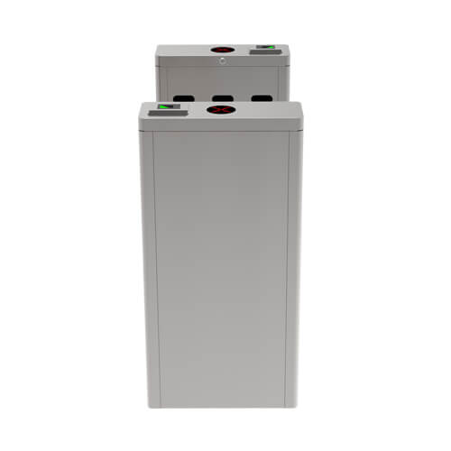 OP1011 - Single lane optical turnstile with controller and RFID reader 3