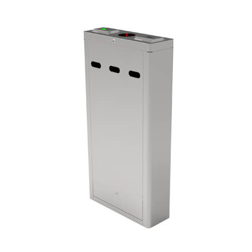 OP1211 - Additional lane infrared optical turnstile with controller and RFID reader