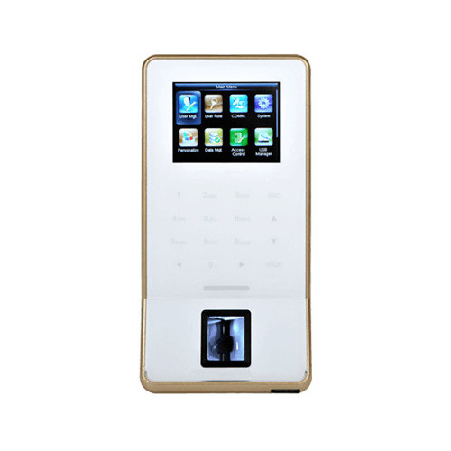 F22 - White Ultra-thin Fingerprint Time Attendance and Access Control Terminal