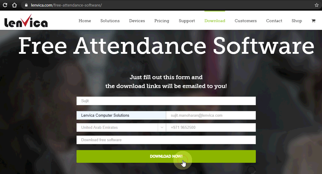 free attendance software download now